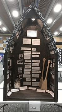 "Senior Group Exhibit 2nd Place Winner ""The Boldt Decision: Turning Point for Native American Treaty Rights"" by Taylor Mamaril and Britt McCracken"